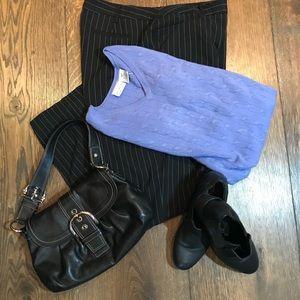 Sweaters - Lavender blue v neck sweater.